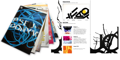 Pseudonym Magazine 2.5 & Website
