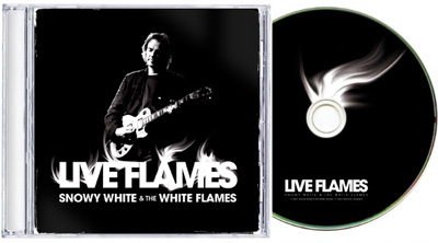 snowy white and the white flames cd artwork