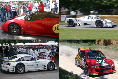 Goodwood Festival of Speed 2007 photography